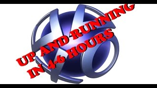 Download PSN: **NEW** UPDATE SERVERS ONLINE IN 4-7 HOURS EASTERN- Playstation Network Servers Offline Video