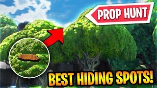 Download HOW TO PLAY FORTNITE PROP HUNT AND THE BEST HIDING SPOTS! (Fortnite Prop Hunt Best Hiding Spots) Video
