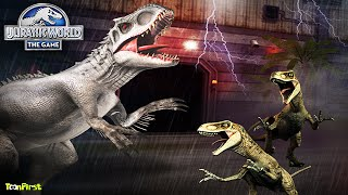 Download Indominus rex In The Hunt   Jurassic World The Game Video