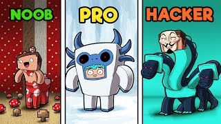 Download Minecraft - TWILIGHT FOREST HIDE AND SEEK! (NOOB vs PRO vs HACKER) Video