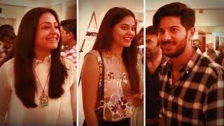 Download Actress Jyothika | Dulquer Salmaan | Bindhu Madhavi | Vikram Prabhu Inaugurates Amortela Store Video