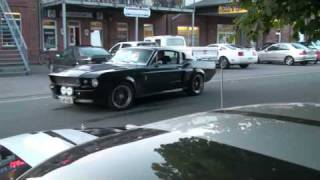 Download Ford Mustang Shelby GT500 Eleanor - great sound and small burnout Video