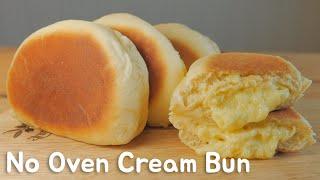 Download No Oven)프라이팬 슈크림빵 クリームパンレシピHow to make Cream Bun [스윗더미 . Sweet The MI] Video