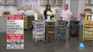 Download HSN | Kitchen Organization featuring Origami 02.21.2017 - 04 PM Video