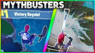 Download What Happens When You Jump Off The Map After Winning A Game? | + MORE! | Fortnite Mythbusters [12] Video