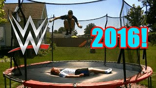 Download Top 50 WWE Finishers of 2016 on Trampoline Video