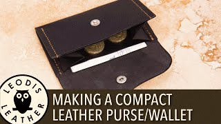 Download Making a Compact Leather Purse or Wallet Video