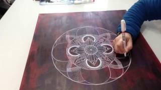 Download Canvas Mandala #1 Video