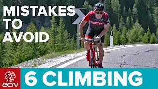 Download 6 Climbing Mistakes To Avoid When Cycling | GCN Pro Tips Video
