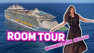 Download TOUR DE MI HABITACION - EL CRUCERO MAS GRANDE DEL MUNDO - EL MUNDO DE CAMILA GUIRIBITEY Video