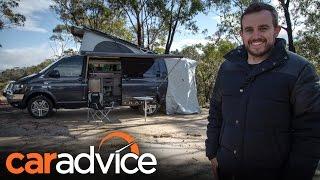 Download 2016 Volkswagen Transporter Trakka Camper Review   CarAdvice Video