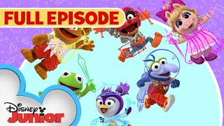 Download Sir Kermit the Brave / Animal Fly Airplane | Full Episode | Muppet Babies | Disney Junior Video