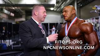 Download 2017 IFBB Olympia 2nd Place Winner Big Ramy Interviewed By Tony Doherty for npcnewsonline Video