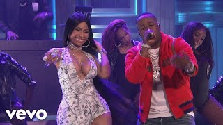 Download Yo Gotti - Rake It Up (Live on The Tonight Show Starring Jimmy Fallon) ft. Nicki Minaj Video