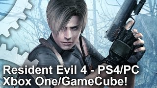 Download Resident Evil 4 Remastered: PS4/Xbox One/PC/GameCube Graphics Comparison Video