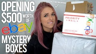Download OPENING $500 EBAY MYSTERY BOXES Video