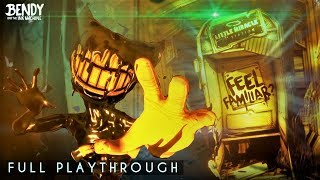 Download Exploring the NEW Chapter 3! || Bendy Chapter 3 Remastered 2018 (Full Playthrough) Video