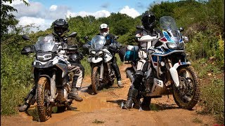 Download F850GS vs Africa Twin vs Tiger 800 | OFF-ROAD Review - 2018 MY Comparison - Part II Video