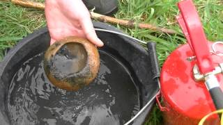 Download Beaker Pottery Firing Stage, 6 (UCD Experimental Archaeology 2013) Video