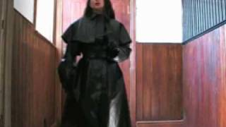 Download Lady Governa in Rubber Riding Mackintosh & Riding Boots Video