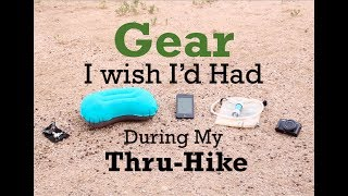 Download Gear I wish I'd had during my Thru-Hike Video