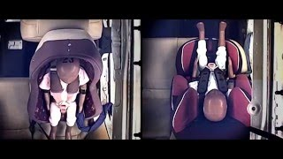 Download The difference in front and rear-facing car seat impact Video