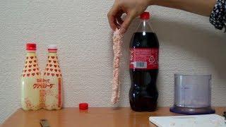 Download メントスで槍を作ってコーラにブッさす coca cola mentos Video