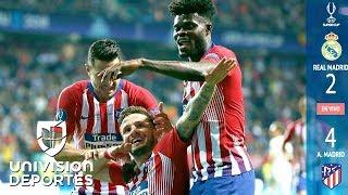 Download Real Madrid 2-4 Atlético de Madrid - RESUMEN Y GOLES – Súper Copa de la UEFA 2018 Video