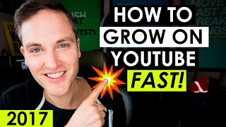 Download How to Grow Your YouTube Channel Fast 2017 — 5 YouTube Tips Video
