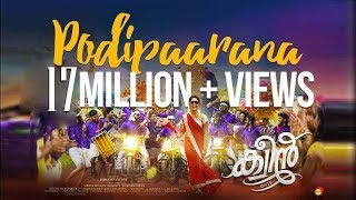 Download Podipaarana Official Song HD | Queen | Dijo Jose Antony | Jakes Bejoy | Arabian Dreams Entertainment Video