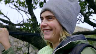 Download Cara Delevingne in Sardinia Mountains Video