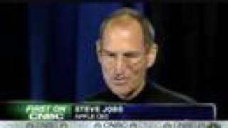Download CNBC Interview: Steve Jobs 3G iPhone Announcement 06/09/08 Video