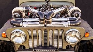 Download DEATHTRAP Willy's - Twin Turbo JEEP! Video