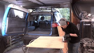 Download FJ Cruiser Build Pt 10 - DIY Collapsible Bed In The Back Of The FJ! Video
