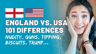 Download 101 Differences Between England & America   Cultural Differences USA vs England Video