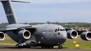 Download NASA Visits Prestwick Airport WB-57F & C17 Video