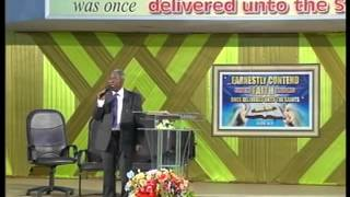 Download Pastor W.F. Kumuyi - The God that cannot Fail March 2013 Video