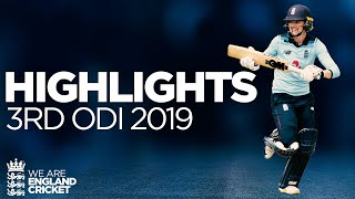 Download Jones & Taylor Star In Series Whitewash | England Women v Windies Women 3rd ODI 2019 - Highlights Video