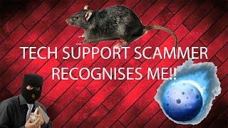 Download Tech Support Scammer vs Darkcomet #2 - Scammer Recognises Me Video