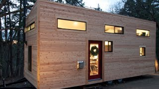 Download Couple Builds Own Tiny House on Wheels in 4 Months for $22,744.06- ″hOMe″ FULL TOUR Video