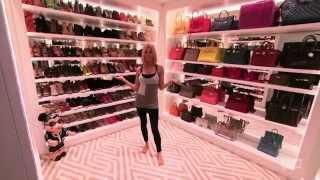 Download Ladies of London Caroline Stanbury's closet tour Video