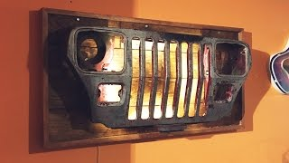 Download Jeep Grille Wall Light - DIY Video