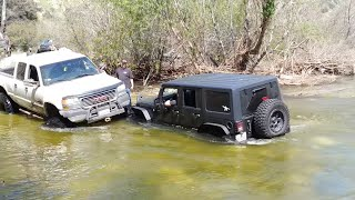 Download March 17, 2019. Azusa canyon OHV Off Road, water crossing Video