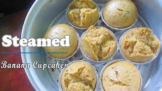 Download Banana Steamed Cupcake Recipe Video