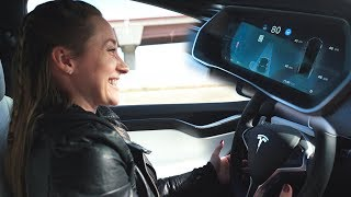 Download Using Autopilot in Tesla Model X! Video