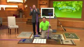 Download Don Aslett's Rubber Broom w/Indoor and Outdoor Hand Brush with Pat James-Dementri Video