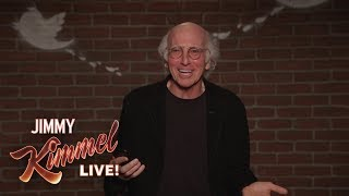 Download Larry David Outtakes – Mean Tweets About Jimmy Kimmel Video