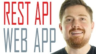 Download Using REST APIs in a web application | Quick PHP Tutorial Video