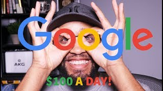 Download HOW TO MAKE $100 A DAY ONLINE FROM GOOGLE. (NEVER SEEN BEFORE!) Video