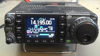 Download #189 ICOM IC-7000 lets out the magical smoke. Is she burning?? We fix it!! Video